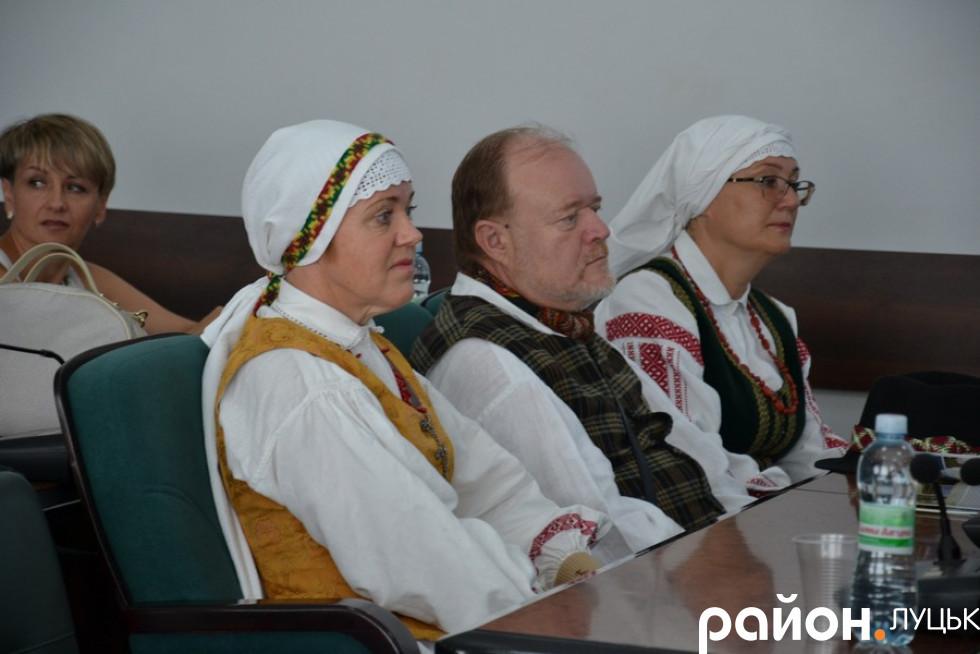 Гості з Литви