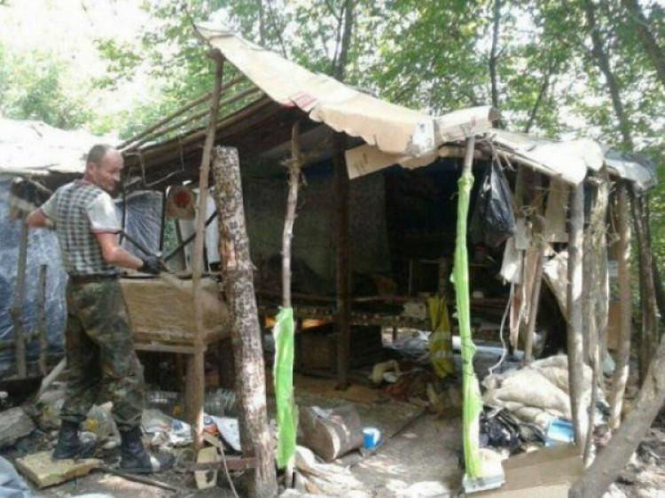Стихійне поселення на Набережній