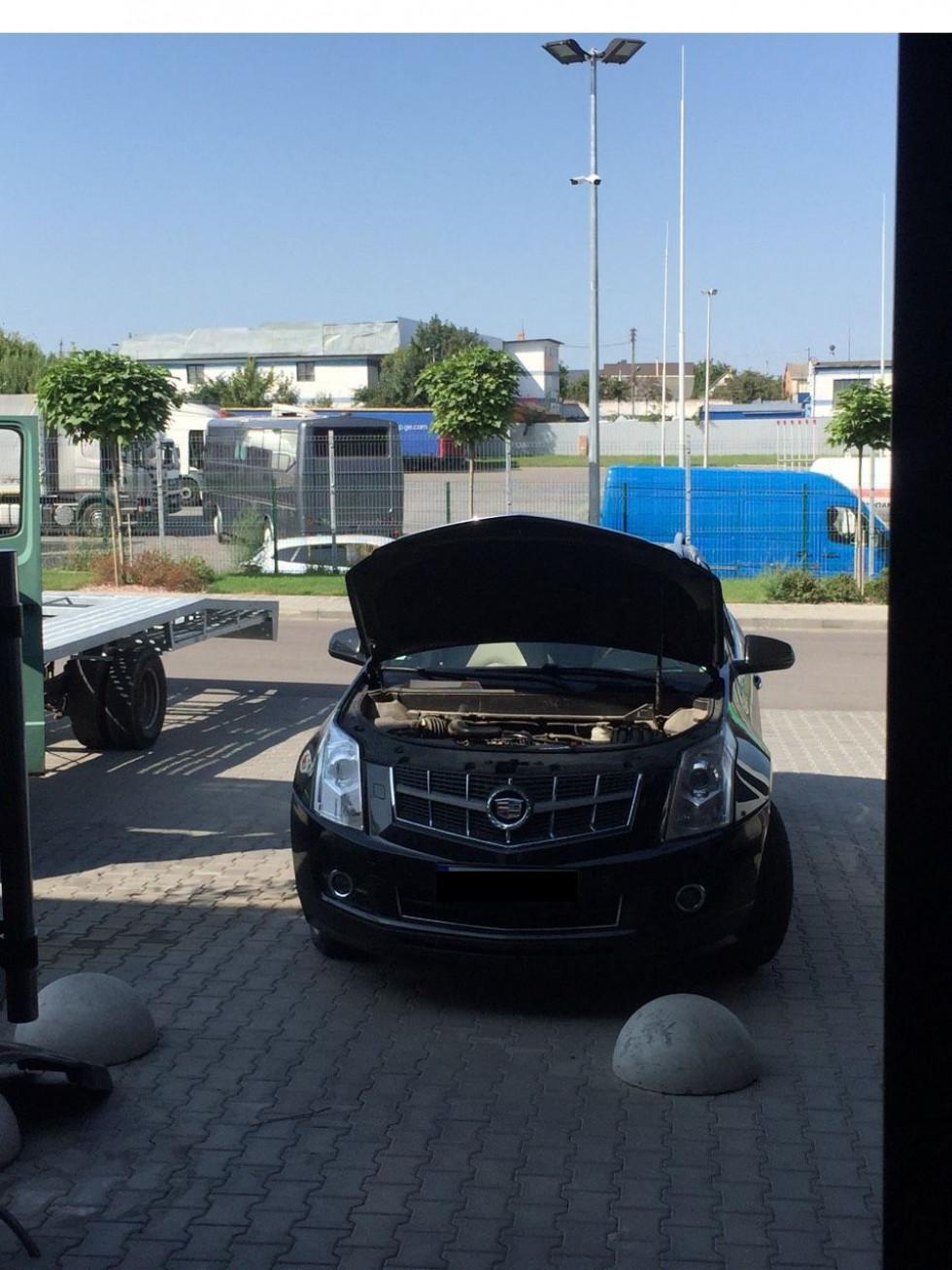 Власник автомобіля звернувся для проведення перереєстрації