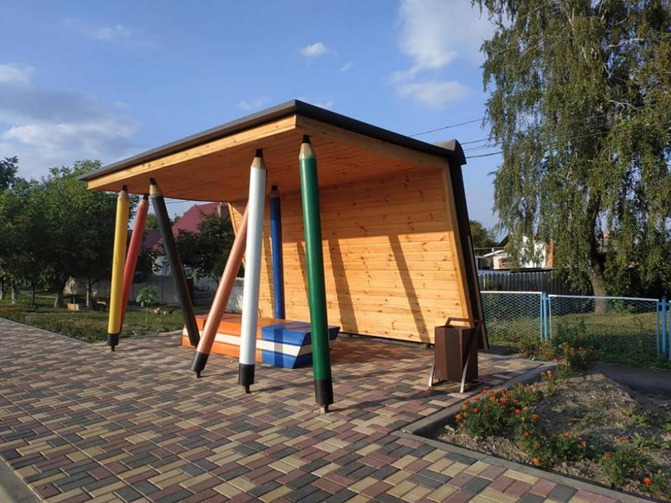 Лавка-гумка в Княгининку