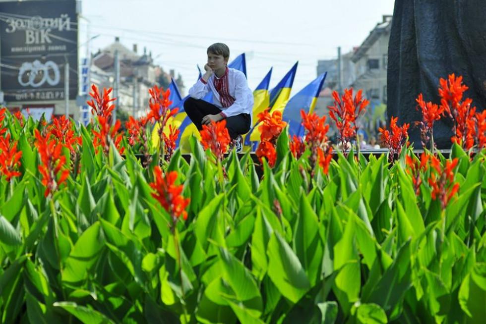 День Незалежності в Луцьку