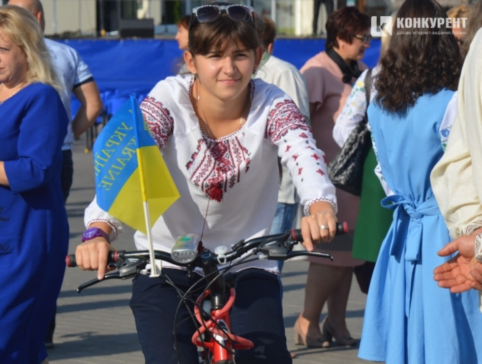 Велопробіг у вишиванках
