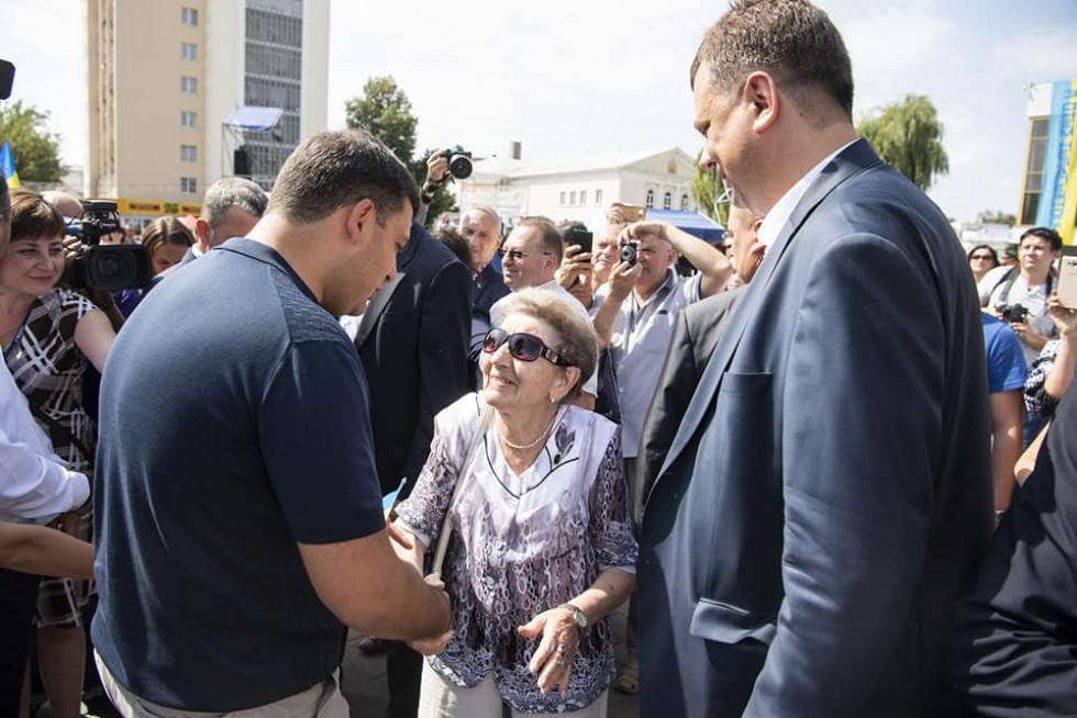 Візит Гройсмана у Луцьк