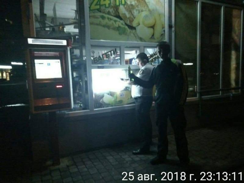 У магазині «Каштан» вночі продавали алкоголь
