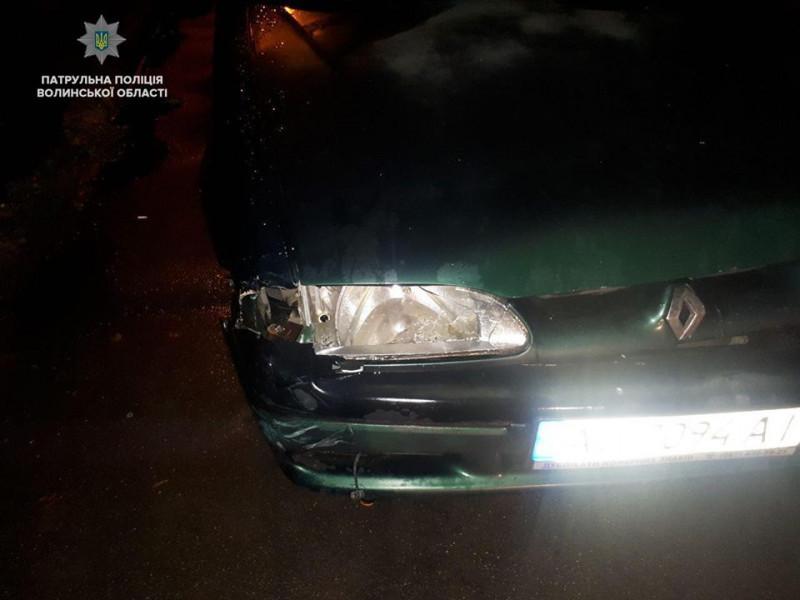 Автівку знайшли за характерними пошкодженнями
