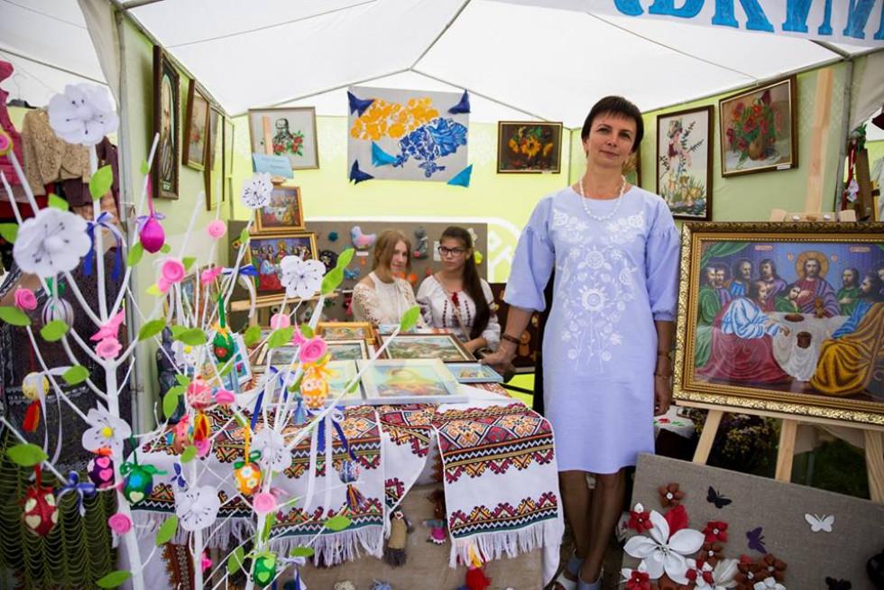 Майстрині брали участь у фестивалі