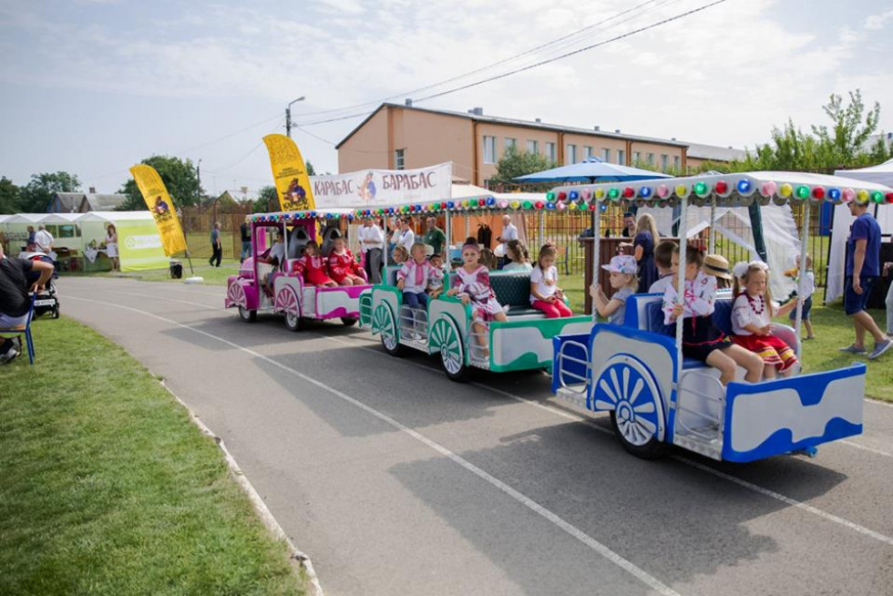 Розваги для дітей на фестивалі