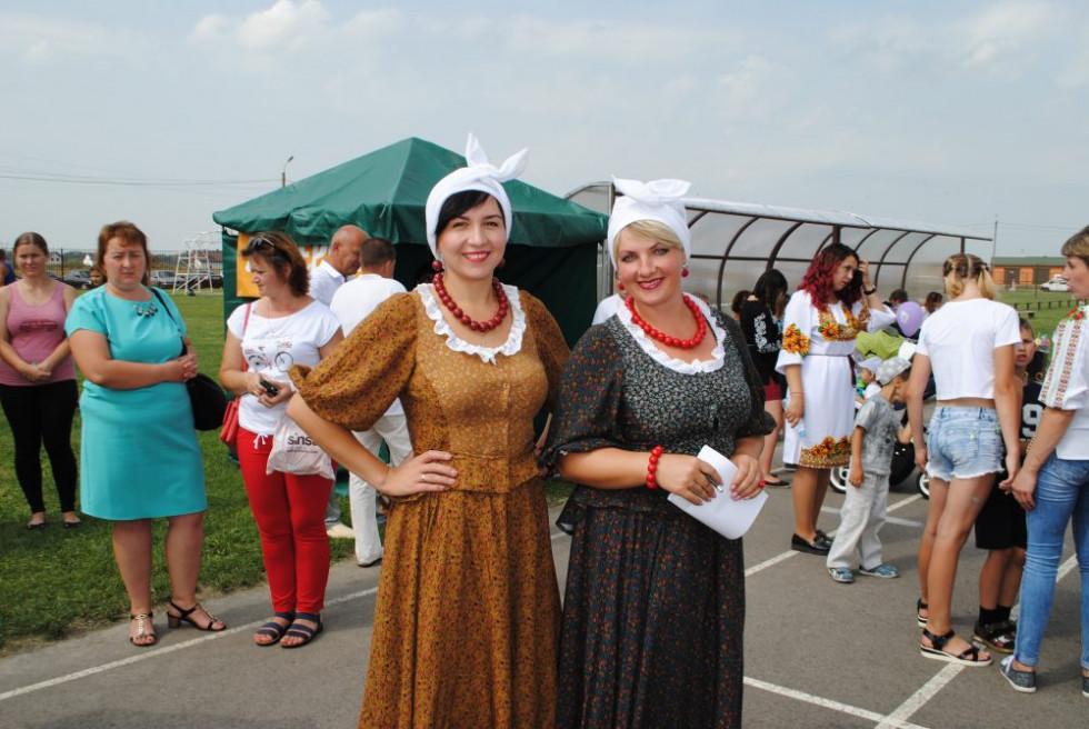 Учасники фестивалю в Боратині