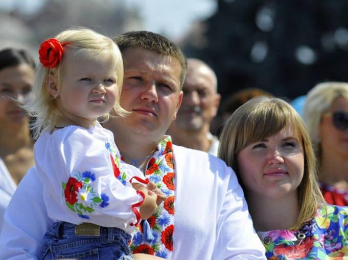 Святкування Дня Незалежності України в Луцьку