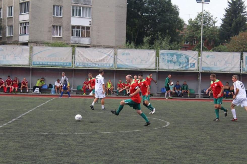 У Луцьку відбувся Міжнародний турнір з футболу серед ветеранів