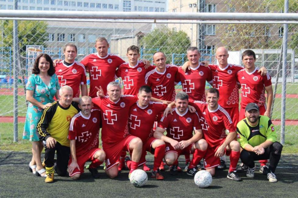 Турнір відбувався на стадіоні СНУ іменіЛесі Українки «Спортивне ядро»