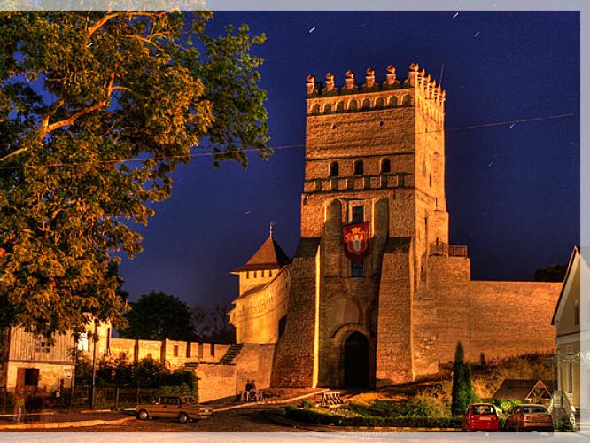 Ніч у Луцькому замку
