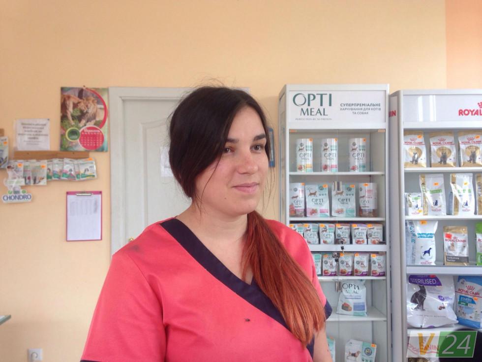 Ветлікарка ветеринарної клініки «Кіт Леопольд»Яна Коханюк