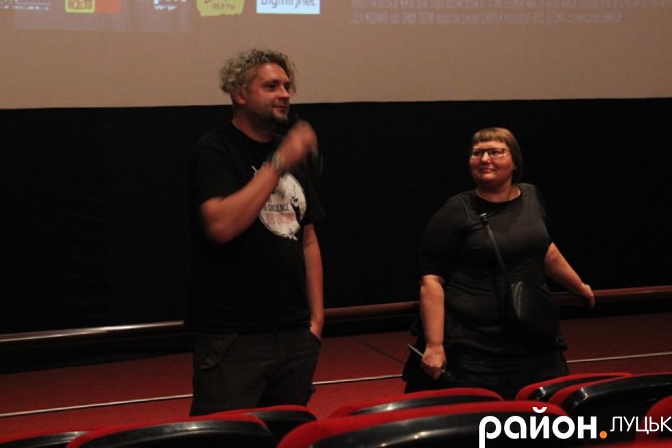 Говорили у Луцьку про особливості робти над фільмом