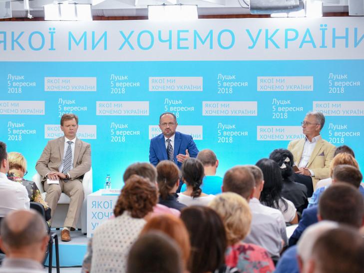 У Луцьку говорили про майбутнє України