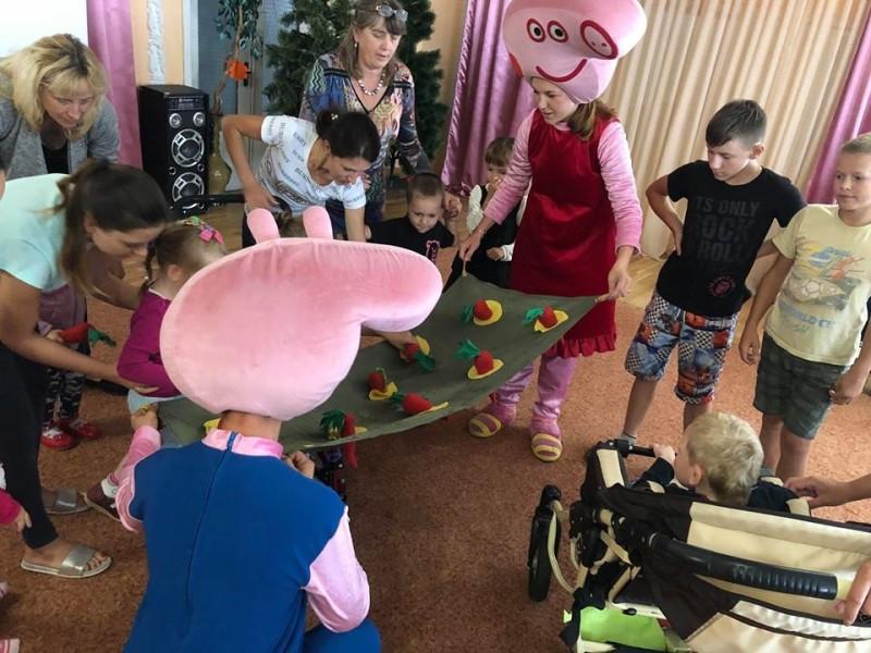 Мирослава Буденчук завітала уВолинський Центр соціальної реабілітації дітей-інвалідів