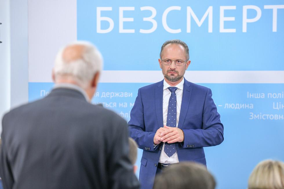 Роман Безсмертний у Луцьку розповів про найпровальніші і найвдаліші реформи