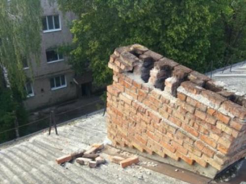 Небезпечний дах.