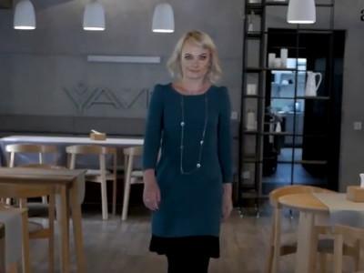 Ірина Пасічник в ресторані «Yavir»