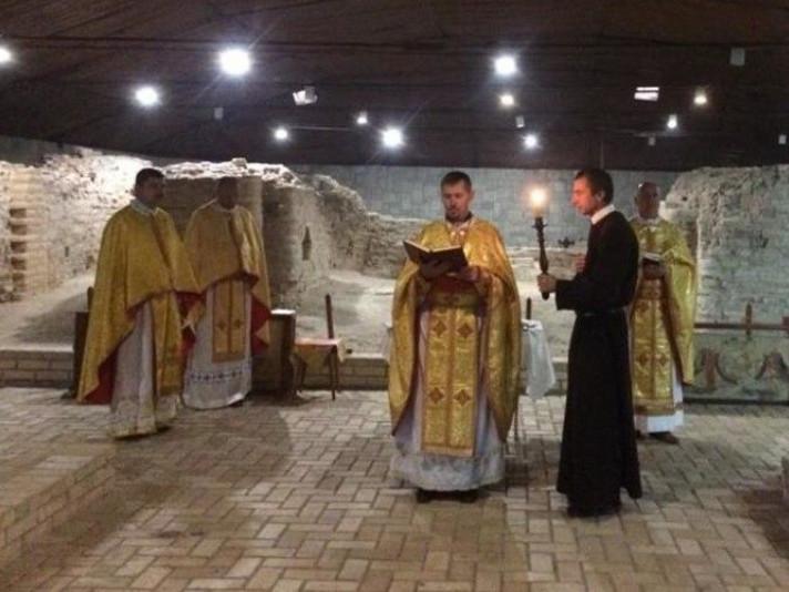 Греко-католики у найстарішому храмі Луцька