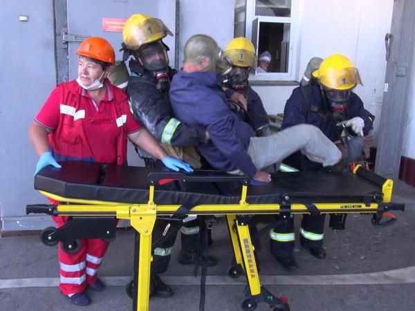 Луцькі рятувальники провели комплексні тактико-спеціальні навчання