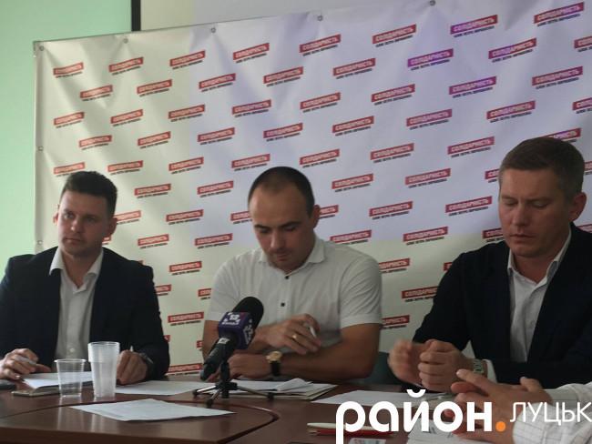 Іван Мирка, Роман Романюк та Максим Саврасов