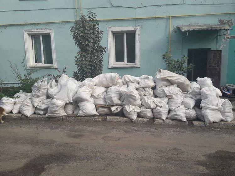 Лучан лякають штрафами за будівельне сміття