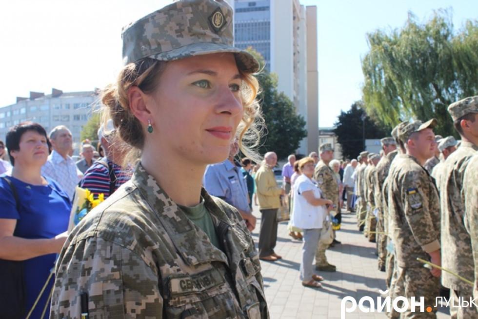 Старший лейтенант Олександра