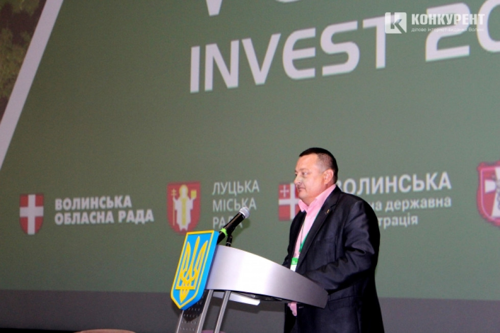 Перший заступник голови Волинської обласної ради Олександр Пирожик