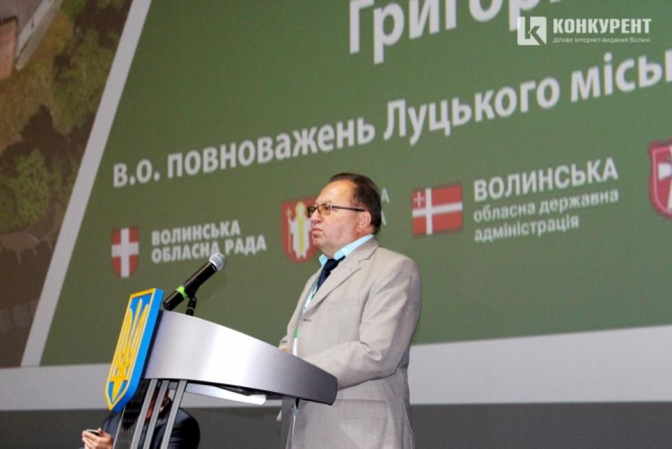 Виконувач обов'язків Луцького міського голови Григорій Пустовіт