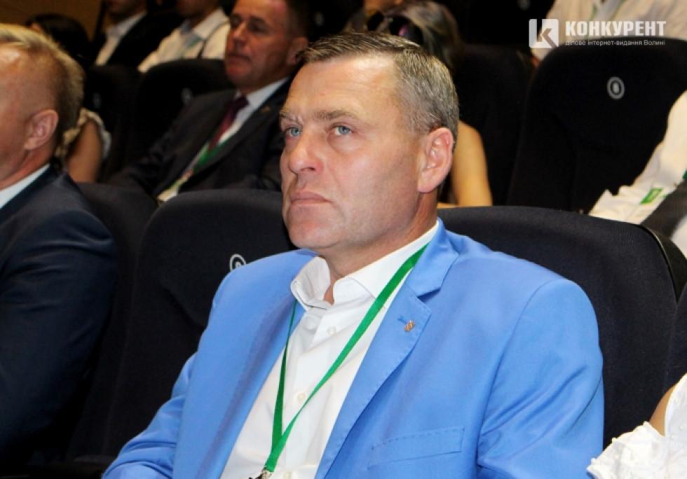 Начальник ГУНП у Волинській області Петро Шпига