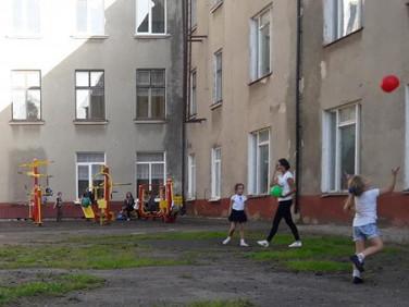 Внутрішній дворик школик №2