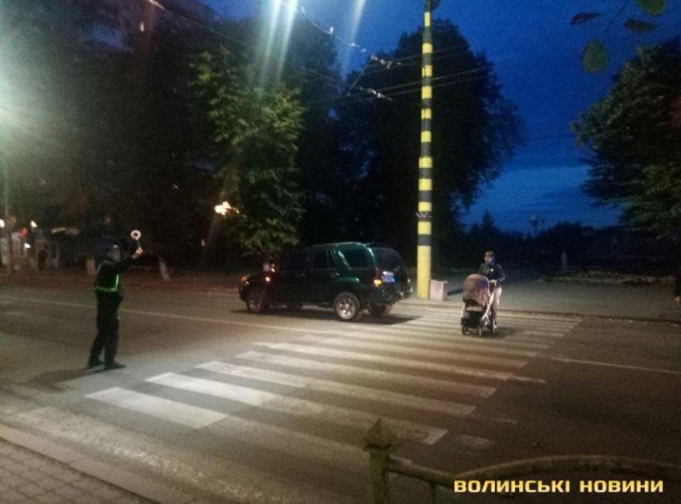 Позашляховик на пішохідному переході збив Володимира Лиса