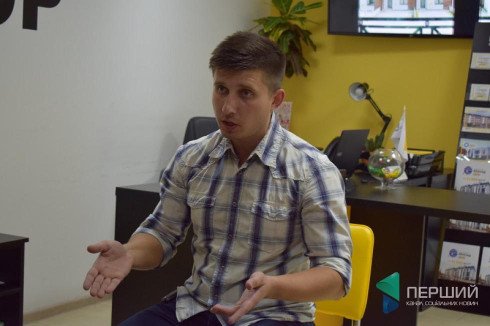 Під час навчання регіональний представник KAN-therm Анатолій Муращенко