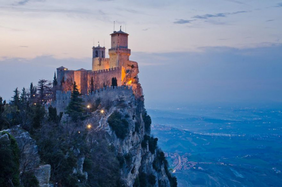 Замок Гуаїта, Сан-Марино.