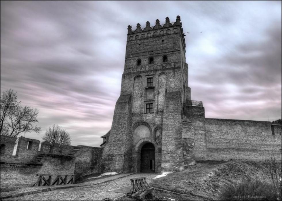 Луцький замок, Україна.