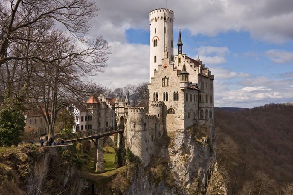 Замок Ліхтенштайн, Німеччина.