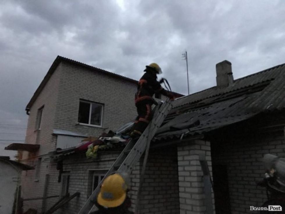 Вогонь пошкодив приблизно 40 квадратних метрів житлової площі