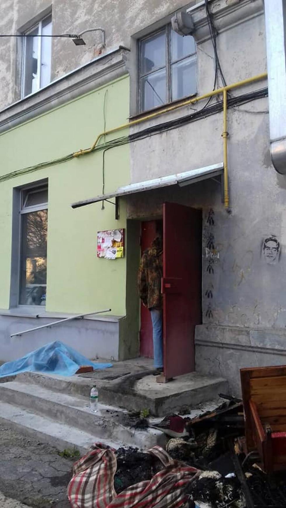 У центрі Луцька — пожежа з загиблим