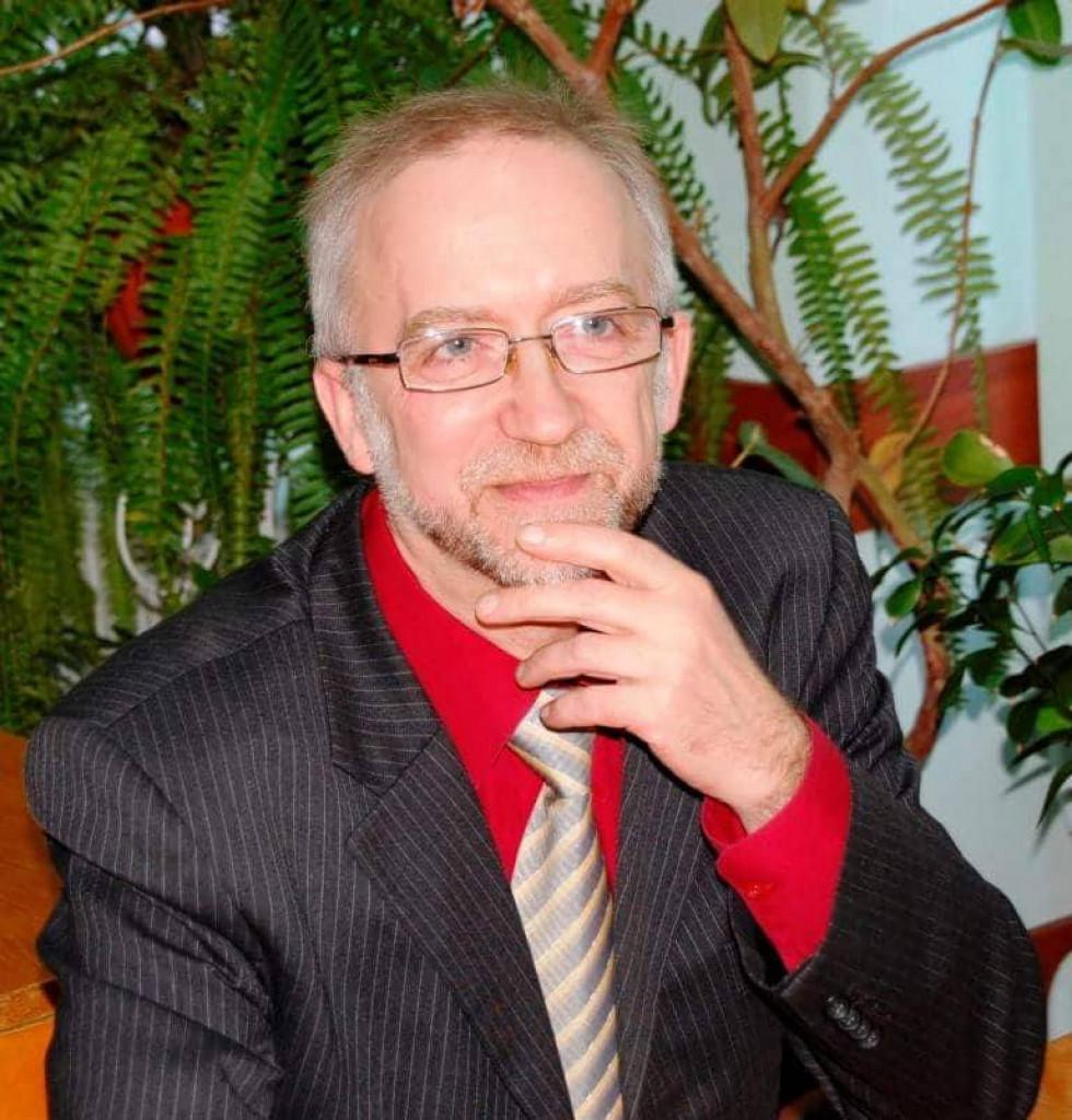 Сергій Волгін, завідувач кафедри ботаніки Східноєвропейського національного університету, доктор біологічних наук, професор