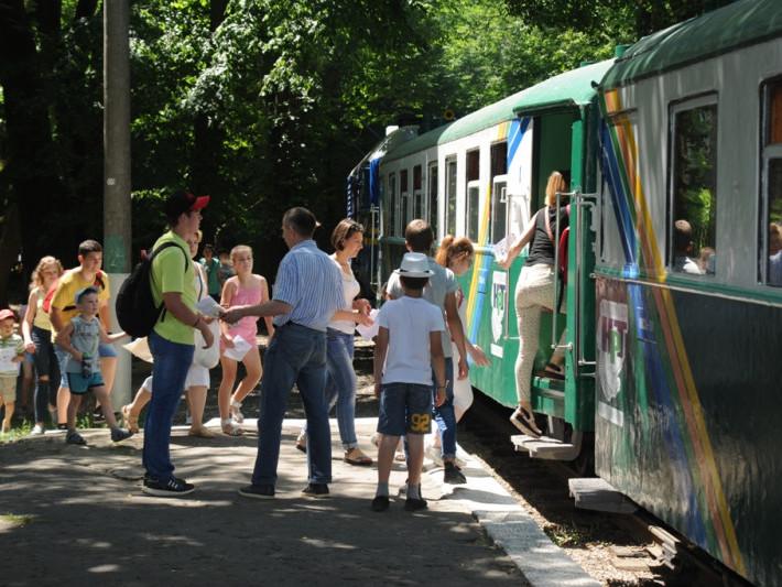 Луцька дитяча залізниця закрила сеон