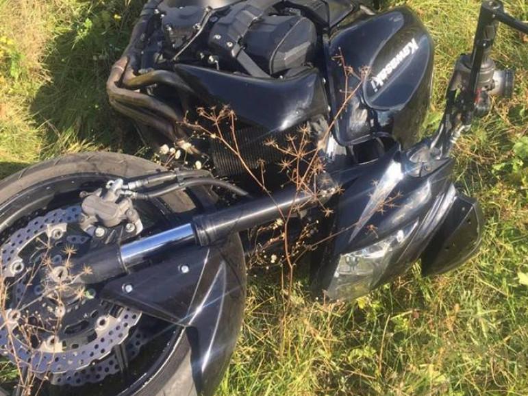 Чоловік ганяв на викраденому мотоциклі
