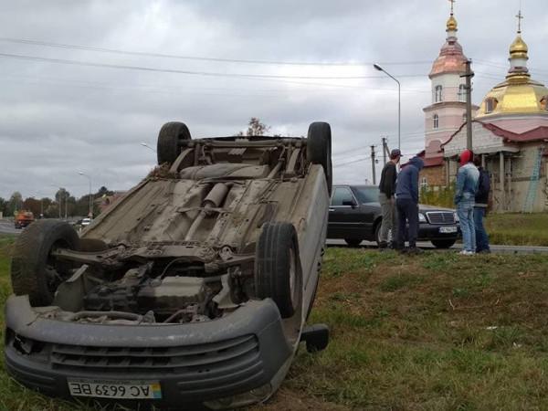 Аварія в селі Забороль