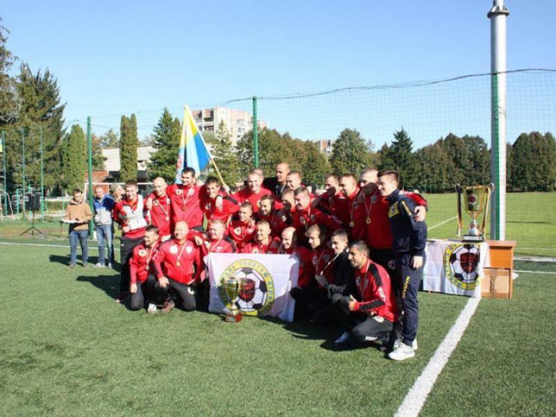 Футбольна команда луцьких атовців