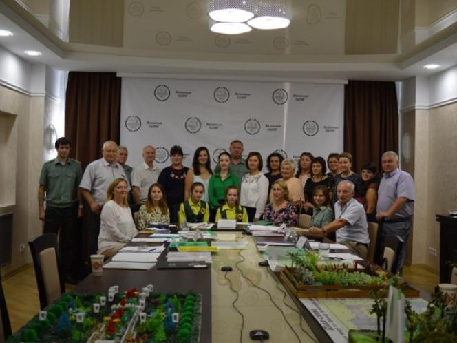 Учасники конкурсу проектів дендропарків та скверів