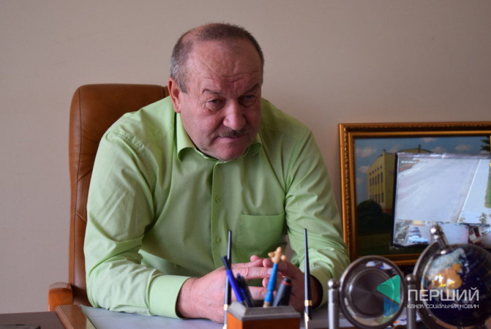 Підгайцівський сільський голова Юрій Семенюк