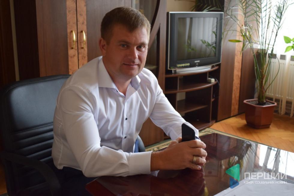 Представник ЖК «Сімейна фортеця» Олександр Князєв