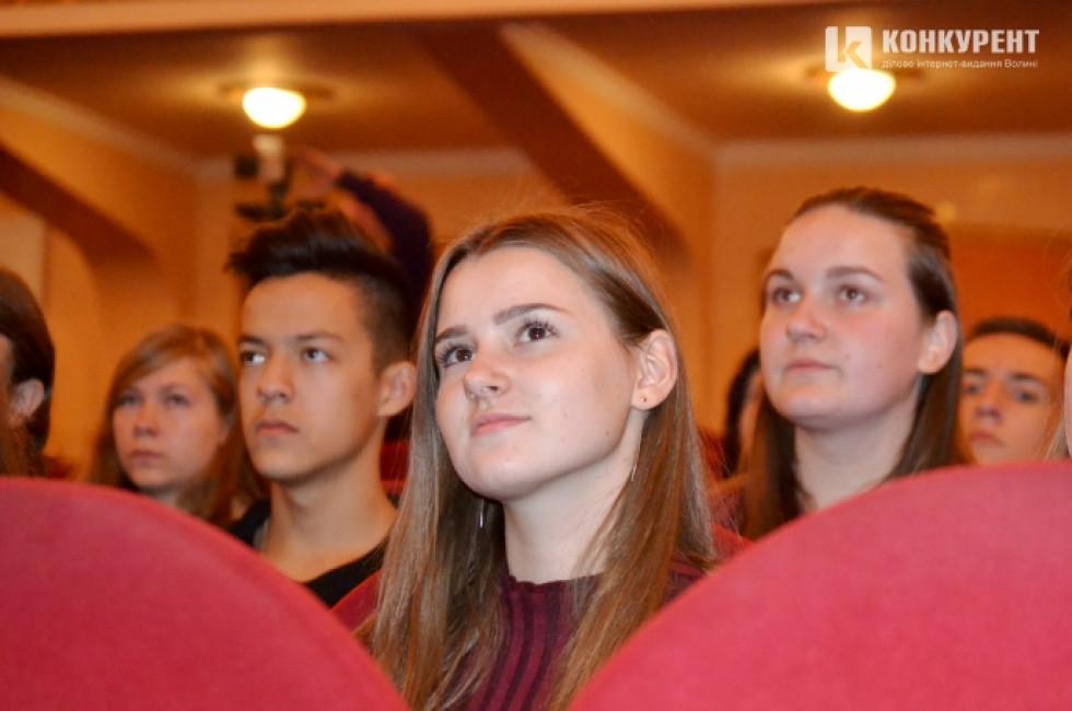 Школярі активно брали участь у ток-шоу