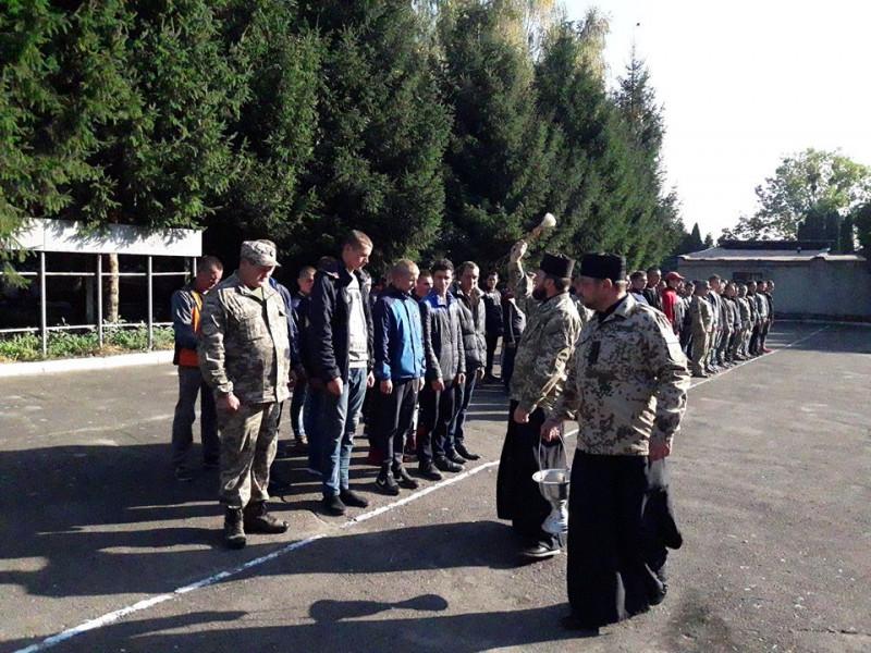 Молоде поповнення армії України