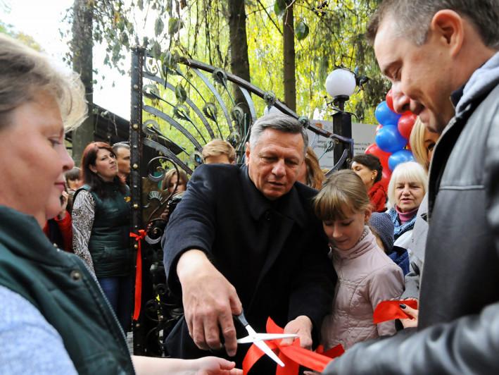 Відкриття оновленого зоопарку в Луцьку